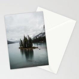 Beautiful Maligne Lake Stationery Cards