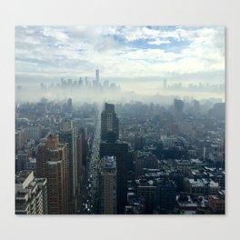 More Fog Less Smog Canvas Print
