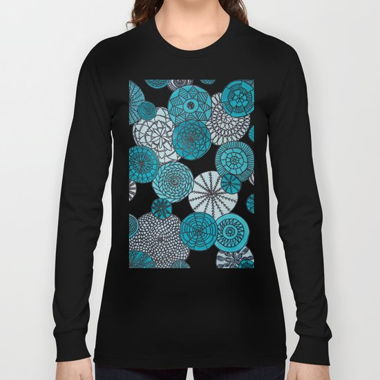 Blue Planets Long Sleeve T-shirt