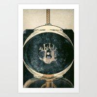 astronaut Art Prints featuring astronaut by Shawn Tegtmeier