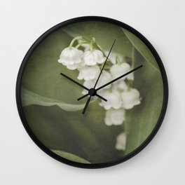 Little Bells - color Wall Clock