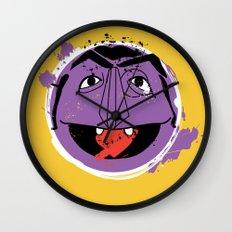 Count Splatt Wall Clock
