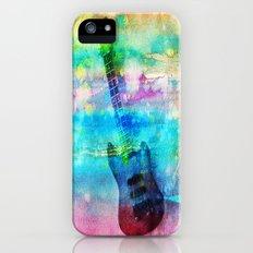 Rainbow Guitar Slim Case iPhone (5, 5s)