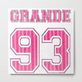 ArianaGrande 93 Metal Print