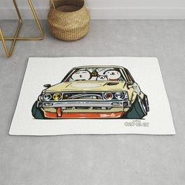Crazy Car Art 0148 Rug