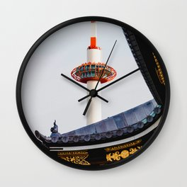 The Chinese Structure (Color) Wall Clock