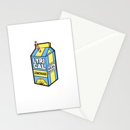 lyrical lemonade Stationery Cards