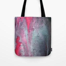 Painted Over a Concrete Feel Tote Bag