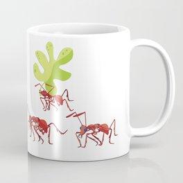 Red ants Coffee Mug