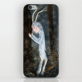 Woodland creature iPhone Skin