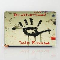 skyrim iPad Cases featuring Skyrim: The Dark Brotherhood by Emowolf145