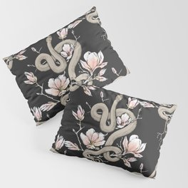 Magnolia and Serpent Pillow Sham
