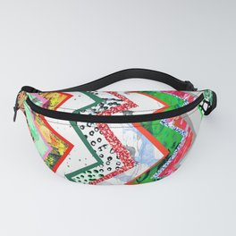 Candy Land Zigzags Fanny Pack