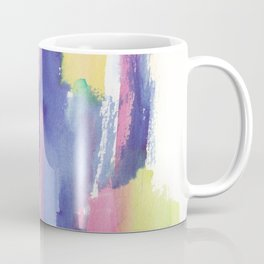 180812 Abstract Watercolour Expressionism 6| Colorful Abstract | Modern Watercolor Art Coffee Mug