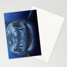 white pointer shark Stationery Cards