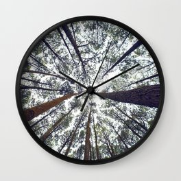 Light Through the Trees Wall Clock