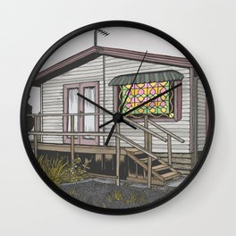 House 03 Wall Clock