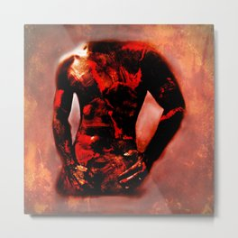 Hot Bod Metal Print