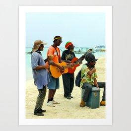 Jamaican Vibes Art Print