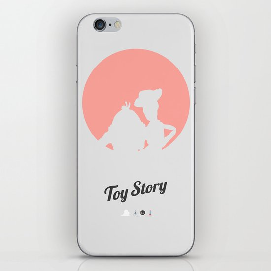 Toy Story - minimal poster iPhone & iPod Skin