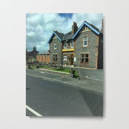 On A Scotland Road Metal Print