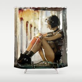 Mathilda - Leon the Professional Shower Curtain