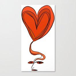 Amor en Mente Canvas Print