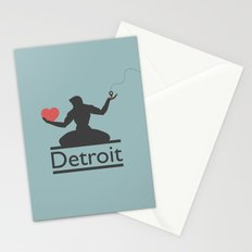 The Spirit of Detroit Stationery Cards