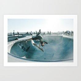 Skate Park Art Print