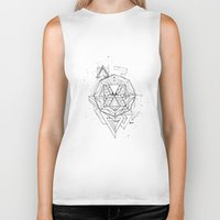 renaissance Biker Tanks featuring Renaissance by Sphynx Collective