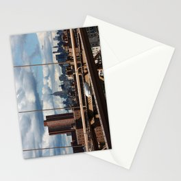 new york city ... manhattan view VII Stationery Cards