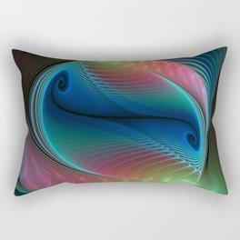 elegant flames -10- Rectangular Pillow