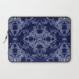 Victorian Era royal blue Laptop Sleeve