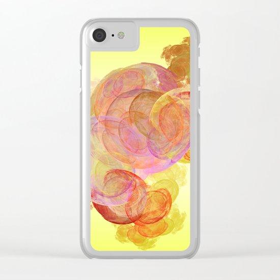 live   (A7 B0245) Clear iPhone Case