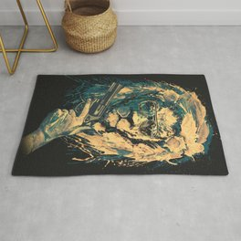 Lion is always Cool Rug