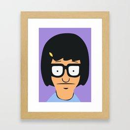 Tina Belcher Framed Art Print