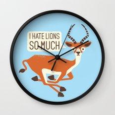 Prey Tell Wall Clock