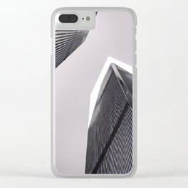 Twin Towers - 9/07/01 - Graphic 3 Clear iPhone Case