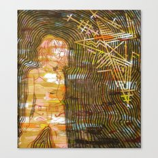 Dissonant Daphne and the Anechoic Star Canvas Print