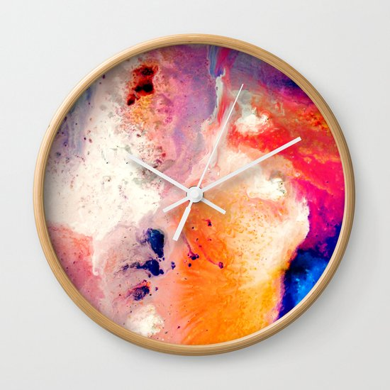 Corrosion Wall Clock