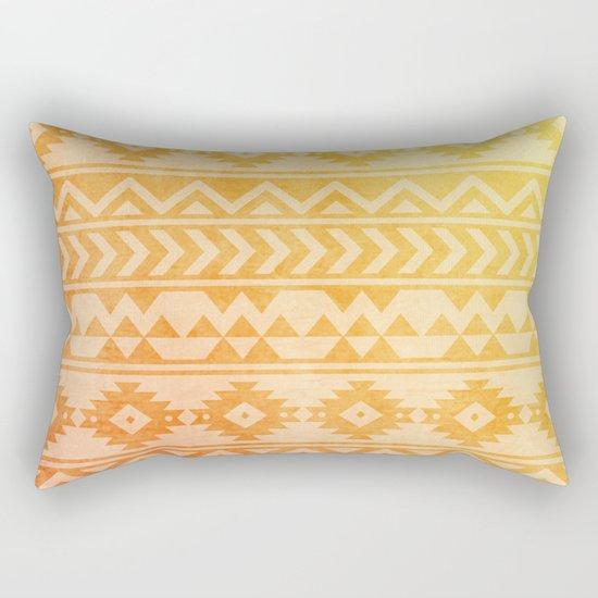 Aztec Pattern 08 Rectangular Pillow