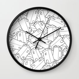 CASTLES! Wall Clock