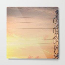 Texas Skies Metal Print