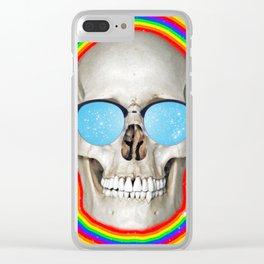 Euphoric Death Clear iPhone Case