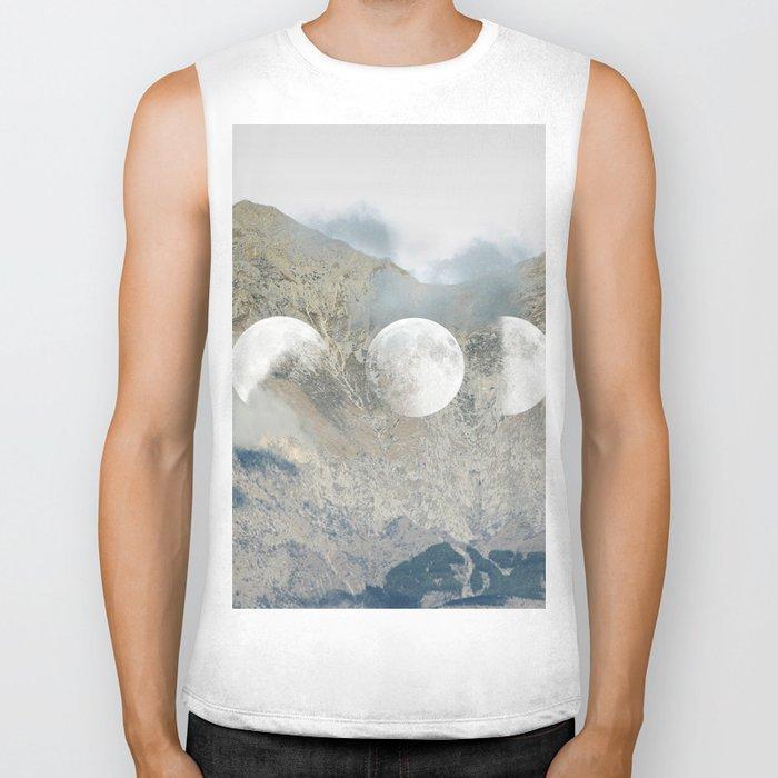 Moonrise Mountains Biker Tank