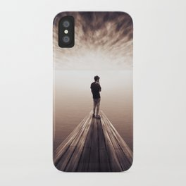 The Sky is getting closer iPhone Case