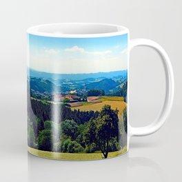Panoramic view into a summertime scenery Coffee Mug