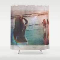 explore Shower Curtains featuring Explore by Trickyricky901