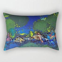 .surfacing {1 of 3}. Rectangular Pillow