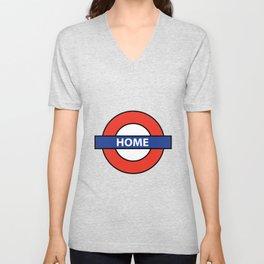 Underground Home Sign Unisex V-Neck